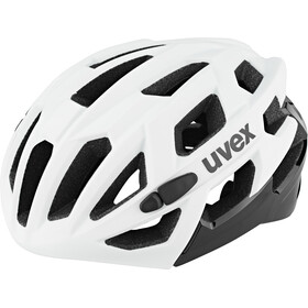 UVEX Race 7 Fietshelm, white/black